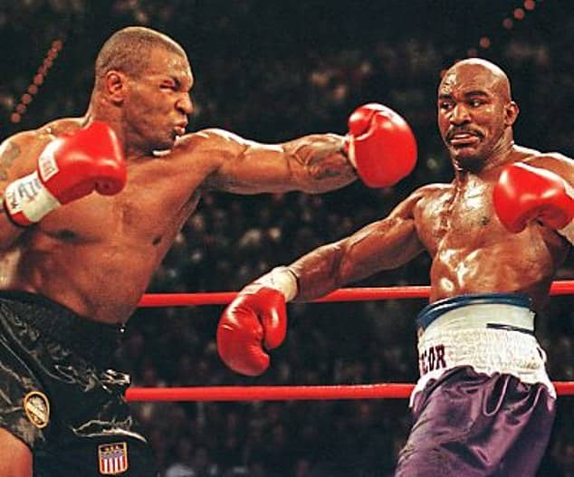 Evander Holyfield plans a 'don't hit me hard' bout with Mike Tyson - Neptune Prime
