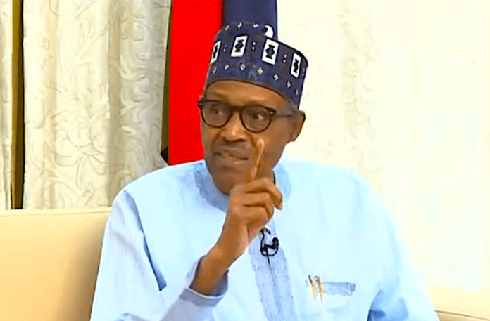 PMB swears in three INEC commissioners. The commissioners were